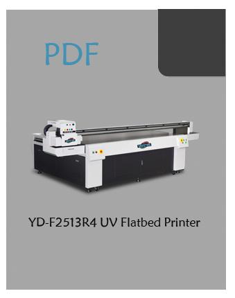 YD-F2513R4 flatbed inkjet printer PDF