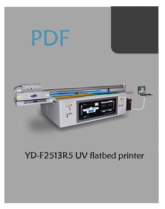 YOTTA YD-F2513R5 flatbed UV printer PDF