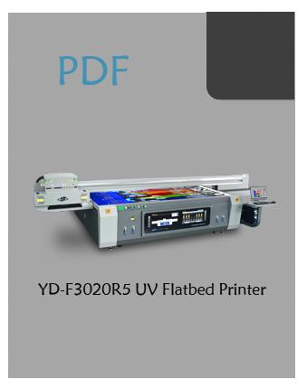 YD-F3020R5 wide format flatbed printer pdf