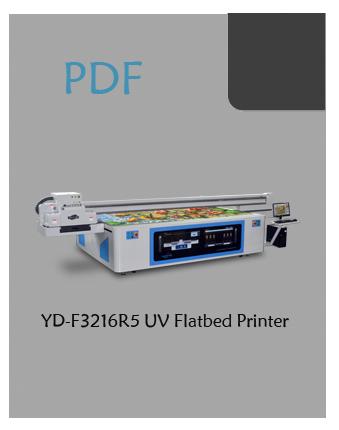 YD-F3216R5 large flatbed printer pdf