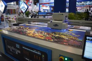 YOTTA flatbed printer on DPES 2016n