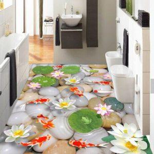 3d effect printing on ceramic tiles