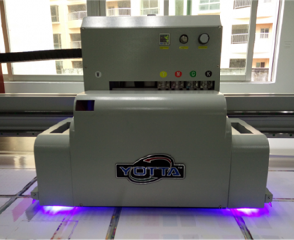 LED UV ink curing