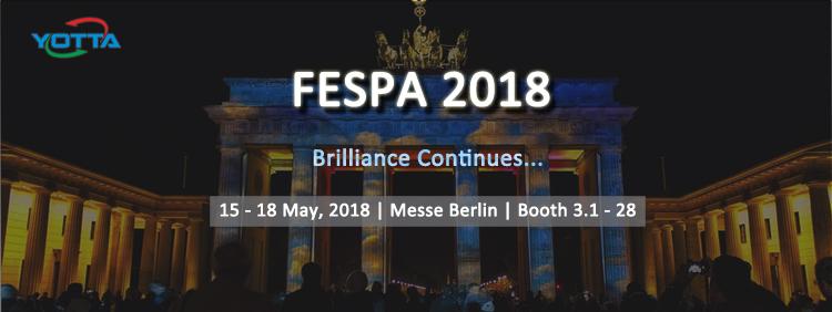 Meet YOTTA's Brialliance at FESPA 2018