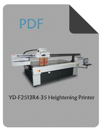 YD-F2513R4-35 heightening flatbed printer pdf