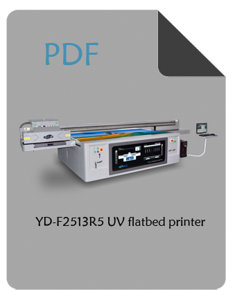YOTTA YD-F2513R5 flatbed UV printer PDF