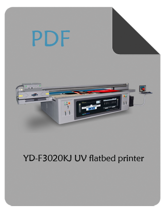 YD-F3020KJ UV flatbed printer pdf
