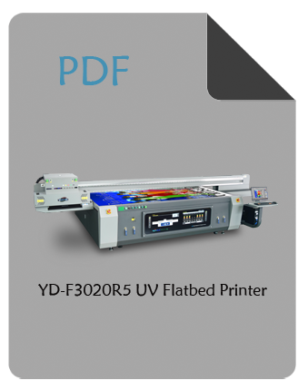 YD-F3020R5 wide format flatbed printer pdf