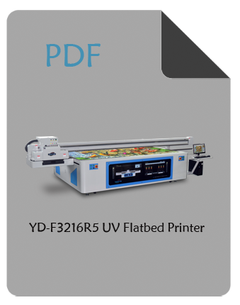 YD-F3216R5 large flatbed printer pdf