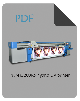 YD-H3200R5 uv hybrid printer pdf