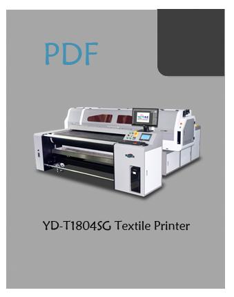 YOTTA YD-T1804SG textile printer PDF