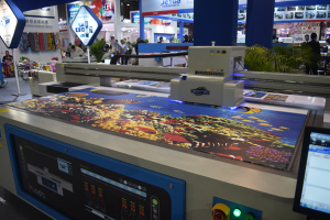 YOTTA flatbed printer on DPES 2016n