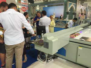 YOTTA printer on Turkey exhibition 2017