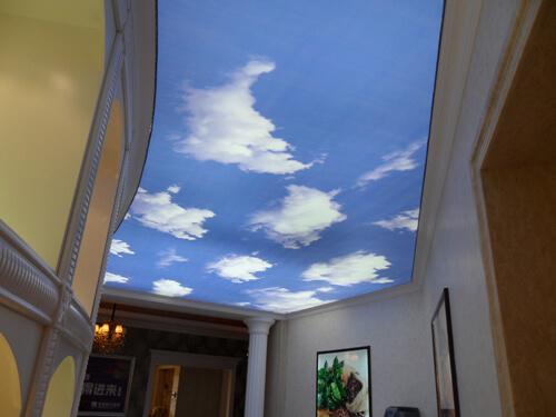 PVC ceiling printing