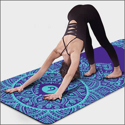 Custom Printing On Yoga Mat