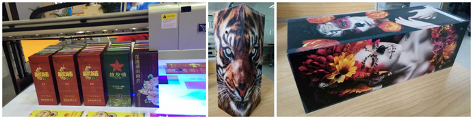 UV LED printer for custom gift box