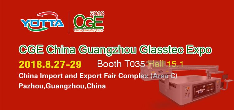 YOTTA will attend the CGE-China Guangzhou Glasstec Expo 2018