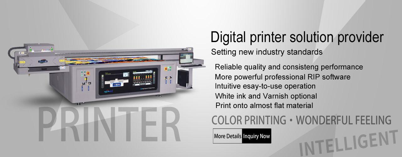 YD-F2513R5 Digital UV Flatbed Printer