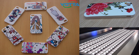 uv printing on phone case with yotta uv printer
