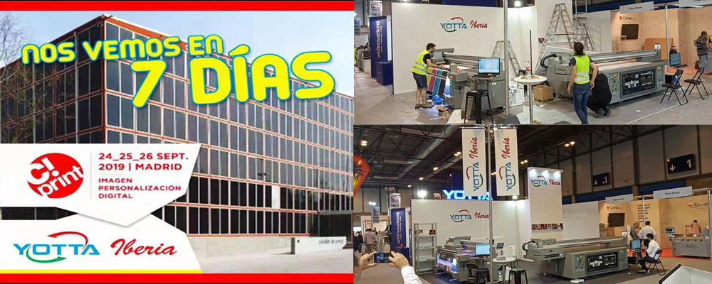 Visit Yotta Iberia at C! Print Expo From 24 to 26 Sept. 2019 in Spain
