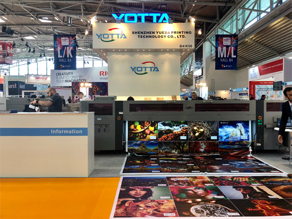 Yotta at FESPA EXPO Munich - H3200KJ