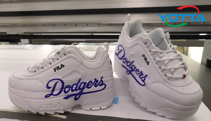 uv printing on shoes
